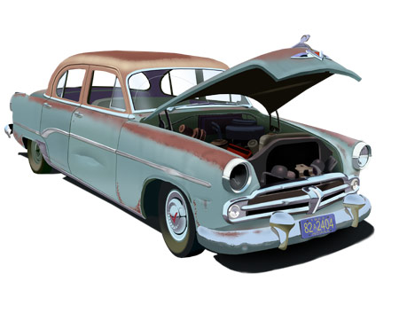 1954 Dodge Four-Door Sedan