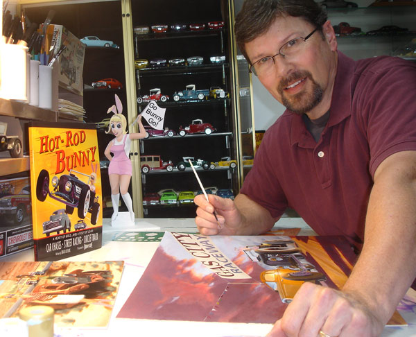 Brad Leisure - Author of Hot Rod Bunny