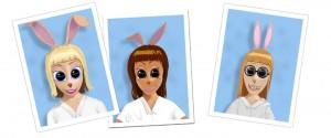 beverly's classmates, hot rod bunny, orphanage girls