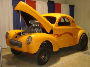 yellow willys gasser