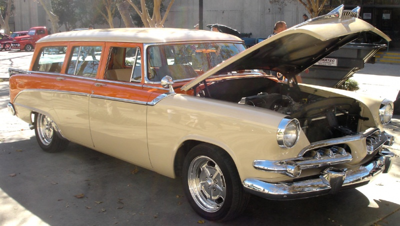 55 dodge wagon