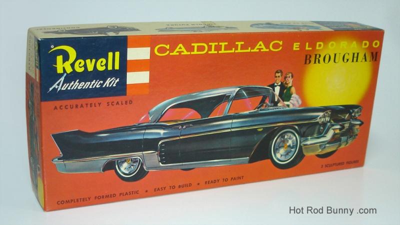 revell 57 eldorado brougham box