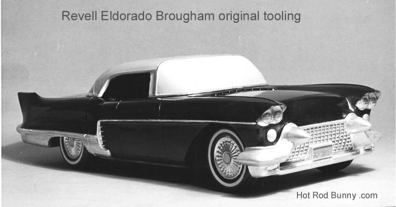 revell eldorado brougham tooling model front